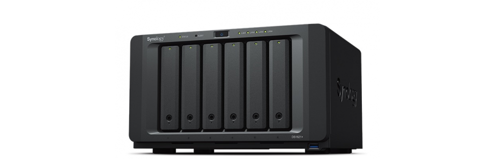 Synology® Announces the Six-Bay DS1621+ Featuring AMD Processor