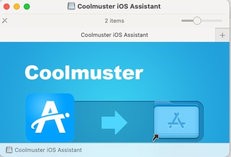 Coolmuster iOS Assistant for Mac -Installation Screen