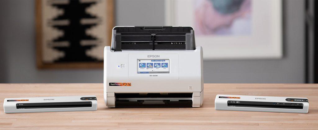 Epson Rapid Receipt Scanner Family