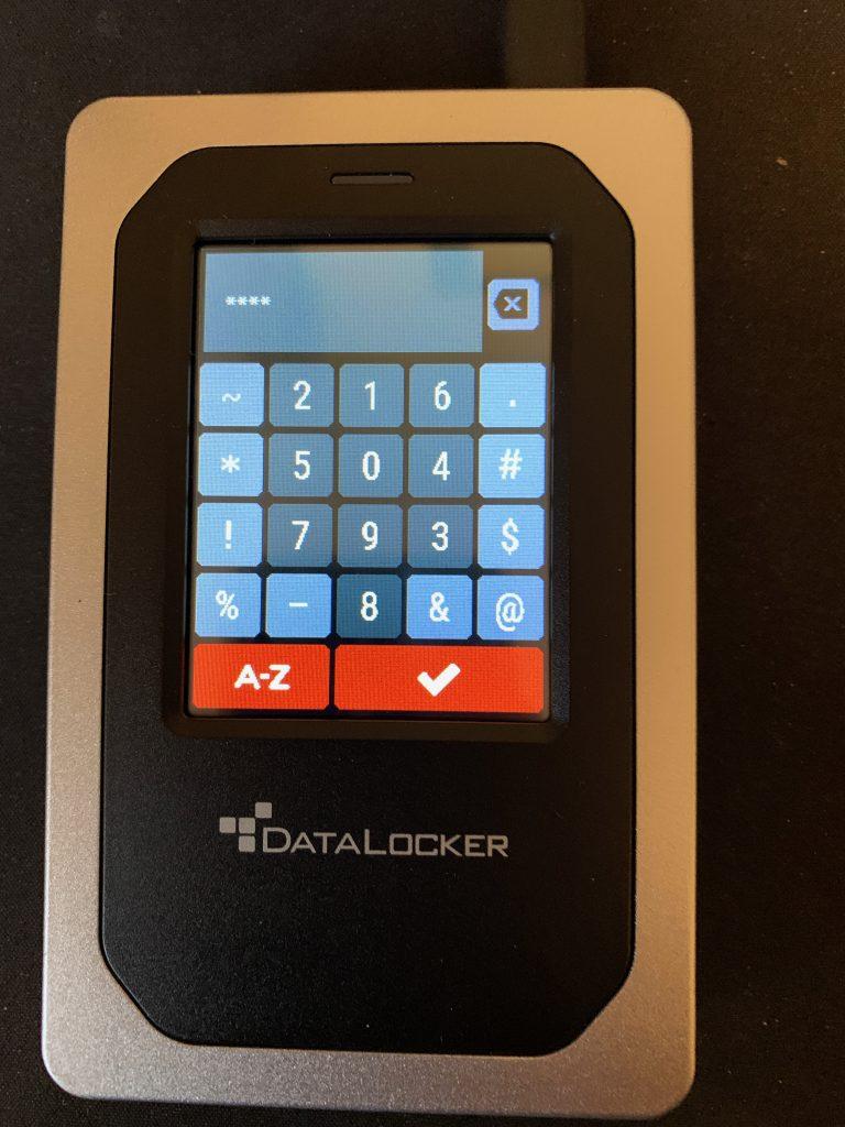 DataLocker DL4-FE - Numeric Keyboard