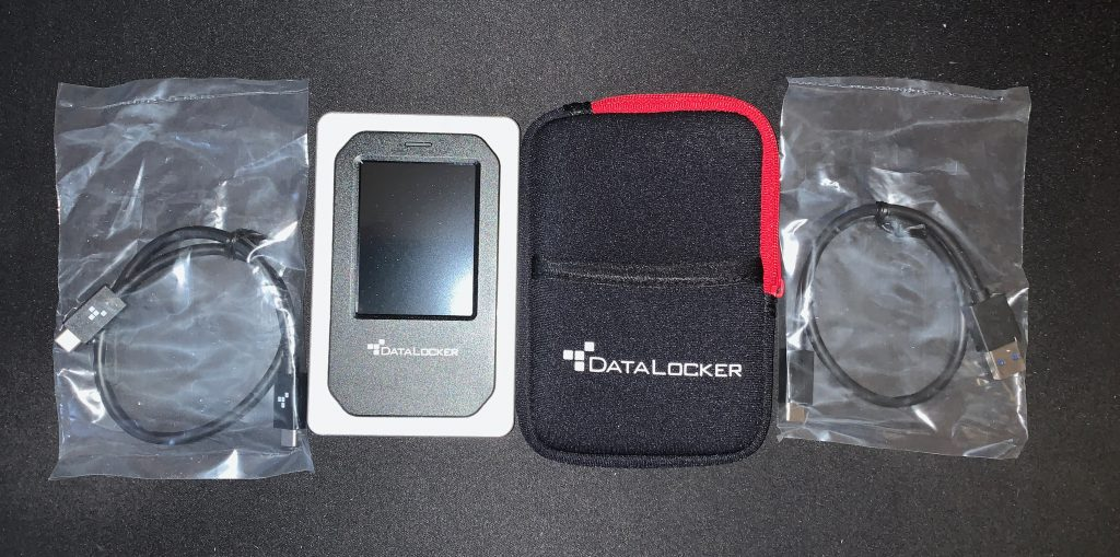 DataLocker DL4-FE - Unboxing