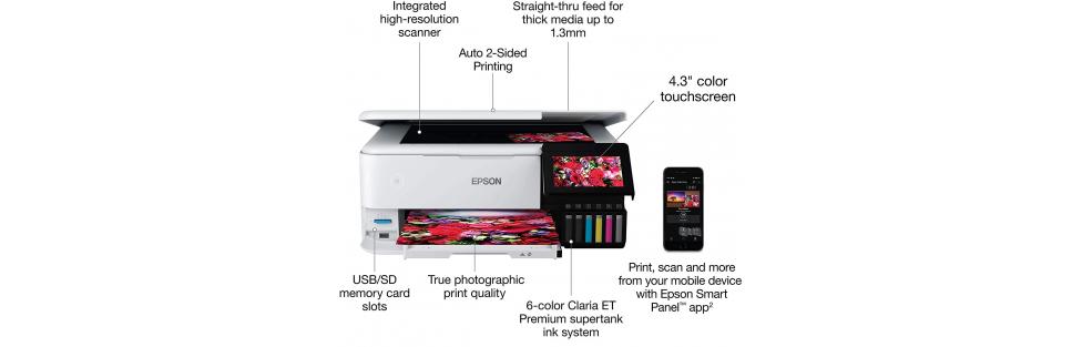Epson EcoTank ET-8500 Photo Printer – Part 2