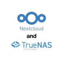 Nextclound and TrueNAS Joint Logo
